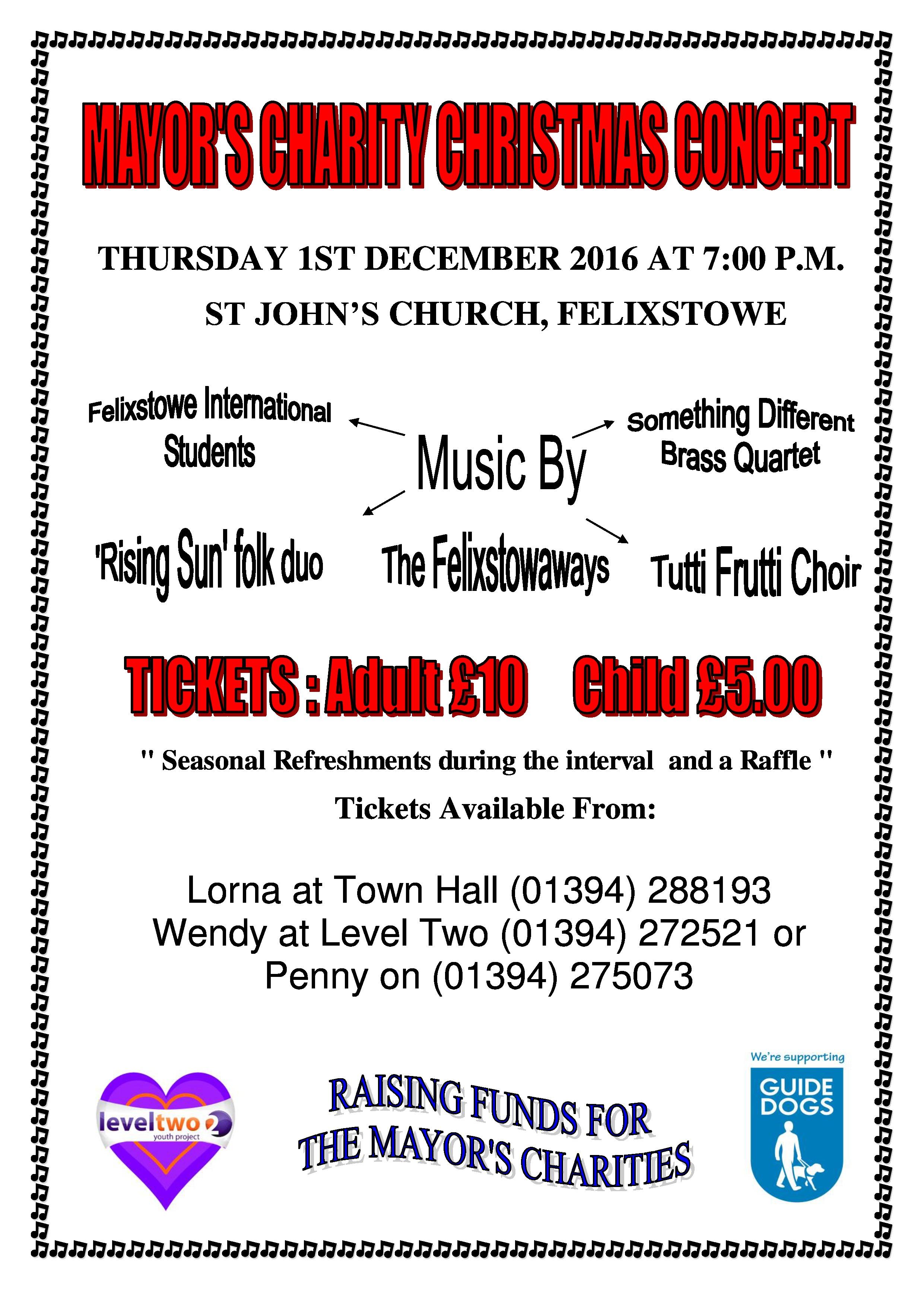 flyer for ors charity christmas concert st dec level two flyer for ors charity christmas concert 1st dec 2016