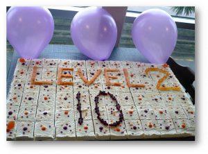 10 year cake