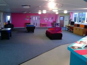 Our youth hub